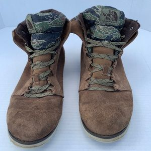Men's Camo and Brown The North Face Boots